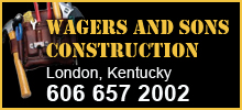 Wagers and Sons Construction, London, ky